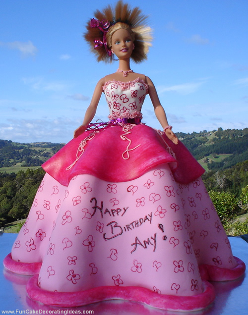 Cake Decorating Ideas Barbie : Fun Cake Decorating Ideas   Barbie s Birthday